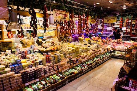 Delicatessan Store, Eminonu District, Istanbul, Turkey Stock Photo - Rights-Managed, Code: 700-05609518