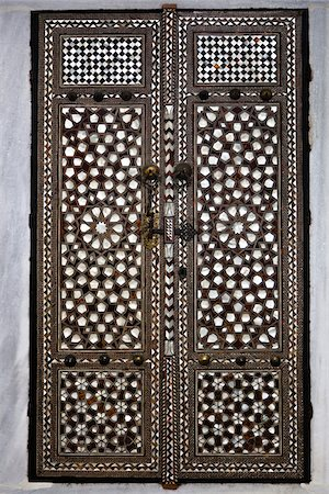 design (motif, artistic composition or finished product) - Close-Up of Doors, Imperial Harem, Topkapi Palace, Istanbul, Turkey Stock Photo - Rights-Managed, Code: 700-05609511