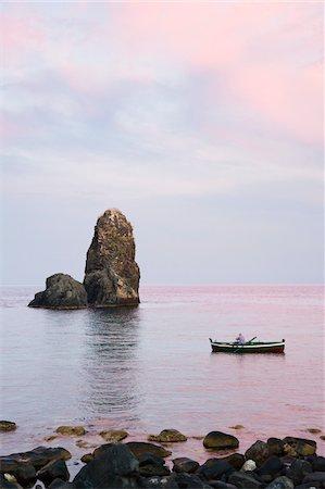 exterior bar - Fisherman and Sea Stacks, Aci Trezza, Province of Catania, Sicily, Italy Stock Photo - Rights-Managed, Code: 700-05609647