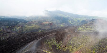 View of Mount Etna, Province of Catania, Sicily, Italy Stock Photo - Rights-Managed, Code: 700-05609654