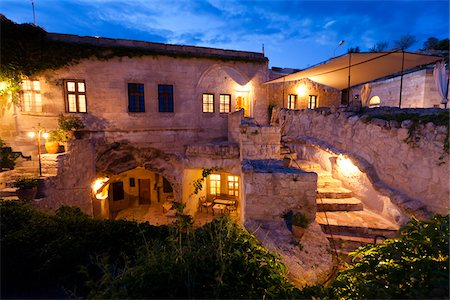 Esbelli Evi Cave Hotel, Urgup, Cappadocia, Turkey Stock Photo - Rights-Managed, Code: 700-05609770