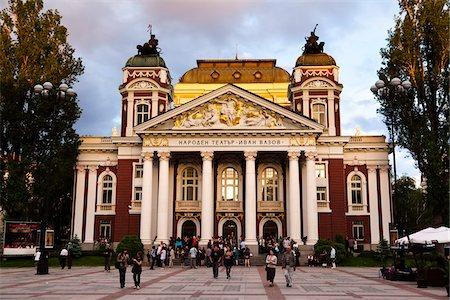 Ivan Vazov National Theatre, Sofia, Bulgaria Stock Photo - Rights-Managed, Code: 700-05609793