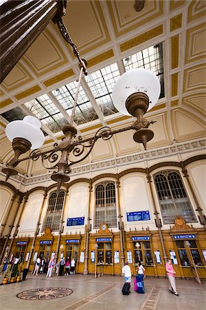 Budapest Nyugati Palyaudvar Train Station, Budapest, Hungary Stock Photo - Rights-Managed, Code: 700-05609832