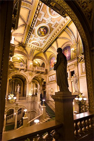 Interior of Vienna State Opera House, Vienna, Austria Stock Photo - Rights-Managed, Code: 700-05609929