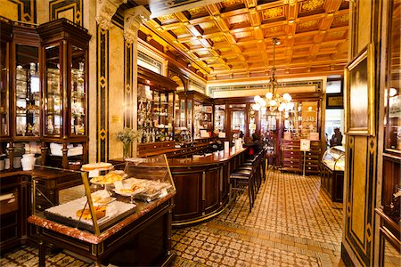 european bar building - Cafe Demel, Vienna, Austria Stock Photo - Rights-Managed, Code: 700-05609934