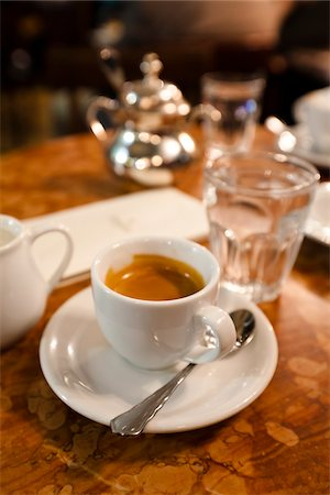 Cup of Coffee, Cafe Demel, Vienna, Austria Stock Photo - Rights-Managed, Code: 700-05609935