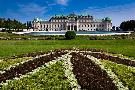 design (motif, artistic composition or finished product) - Belvedere Palace, Vienna, Austria Stock Photo - Rights-Managed, Code: 700-05609939