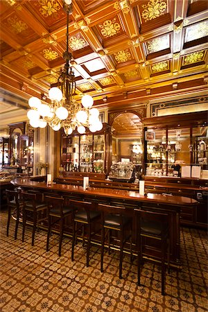 european bar building - Cafe Demel, Vienna, Austria Stock Photo - Rights-Managed, Code: 700-05609933