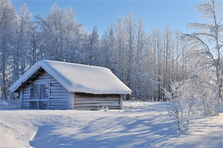 snow - Winter Scene, Kuusamo, Northern Ostrobothnia, Finland Stock Photo - Rights-Managed, Code: 700-05609965