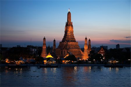 Wat Arun, Bangkok, Thailand Stock Photo - Rights-Managed, Code: 700-05641550