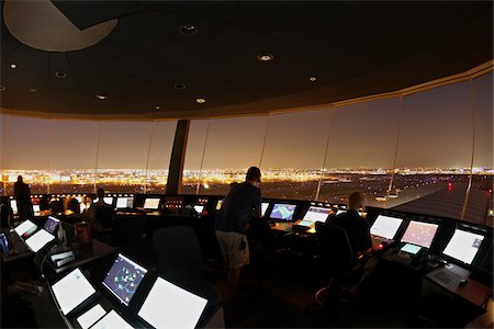 Air Traffic Control Tower, Toronto, Ontario, Canada Stock Photo - Rights-Managed, Code: 700-05641926