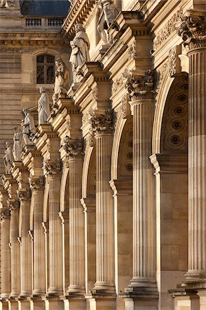 pillar - Louvre, Paris, France Stock Photo - Rights-Managed, Code: 700-05642090