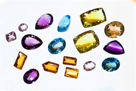 Close-Up of Gemstones Stock Photo - Rights-Managed, Code: 700-05642240