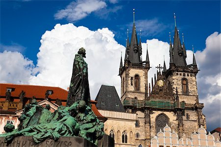 Church of Our Lady before Tyn, Old Town, Prague, Czech Republic Stock Photo - Rights-Managed, Code: 700-05642386