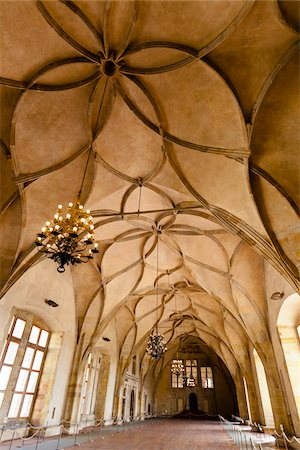 design (motif, artistic composition or finished product) - Interior of Vladislav Hall, Prague Castle, Prague, Czech Republic Stock Photo - Rights-Managed, Code: 700-05642439