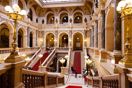 Interior of Main Buildling of National Museum, Prague, Czech Republic Stock Photo - Rights-Managed, Code: 700-05642461