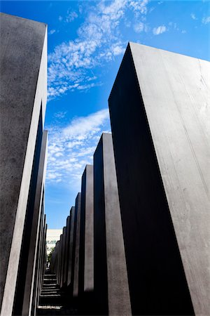 Memorial to the Murdered Jews of Europe, Berlin, Germany Stock Photo - Rights-Managed, Code: 700-05642475