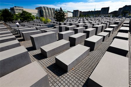 Memorial to the Murdered Jews of Europe, Berlin, Germany Stock Photo - Rights-Managed, Code: 700-05642471