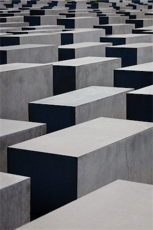 Memorial to the Murdered Jews of Europe, Berlin, Germany Stock Photo - Rights-Managed, Code: 700-05642473