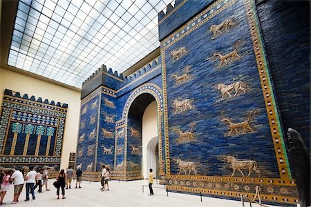 Ishtar Gate, Pergamon Museum, Museum Island, Berlin, Germany Stock Photo - Rights-Managed, Code: 700-05642503