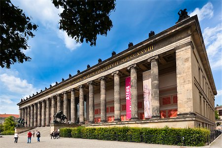 Altes Museum, Museum Island, Berlin, Germany Stock Photo - Rights-Managed, Code: 700-05642512