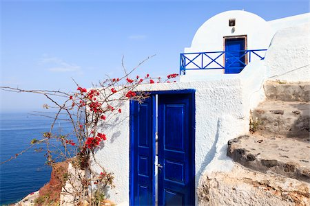 House, Oia, Santorini Island, Greece Stock Photo - Rights-Managed, Code: 700-05653104
