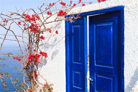 House, Oia, Santorini Island, Greece Stock Photo - Rights-Managed, Code: 700-05653105