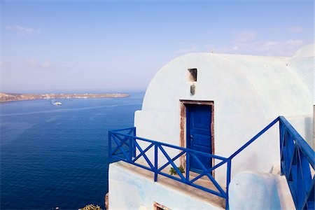 Oia, Santorini Island, Greece Stock Photo - Rights-Managed, Code: 700-05653106