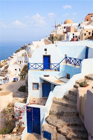 Oia, Santorini Island, Greece Stock Photo - Rights-Managed, Code: 700-05653107