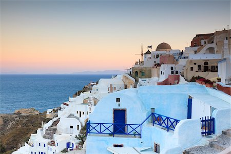Oia, Santorini Island, Greece Stock Photo - Rights-Managed, Code: 700-05653108