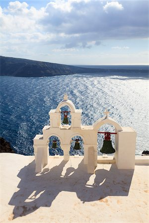 Bell Tower, Oia, Santorini Island, Greece Stock Photo - Rights-Managed, Code: 700-05653109