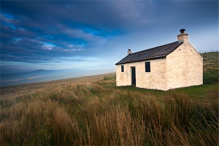 Cottage, Hartside Pass , North Pennines, Cumbria, England Stock Photo - Rights-Managed, Code: 700-05653166