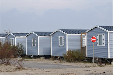 Row of Mobile Homes Stock Photo - Rights-Managed, Code: 700-05662619
