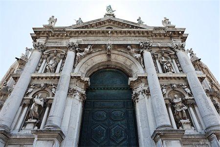 Close-up of Basilica of Santa Maria della Salute, Venice, Veneto, Italy Stock Photo - Rights-Managed, Code: 700-05756321