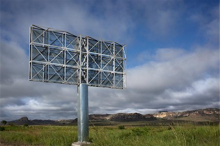 Backside of Billboard, Madagascar Stock Photo - Rights-Managed, Code: 700-05756347