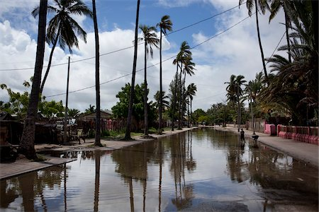 Flooded Street in Aftermath of Typhoon, Toliara, Madagascar Stock Photo - Rights-Managed, Code: 700-05756349