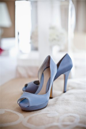Blue Shoes Stock Photo - Rights-Managed, Code: 700-05756380