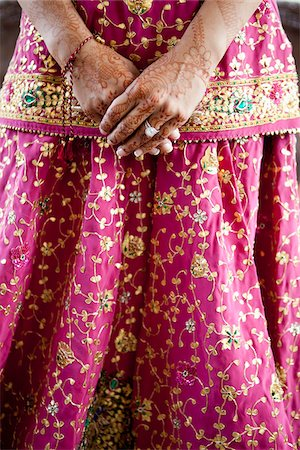 Close-Up of Sikh Bride Stock Photo - Rights-Managed, Code: 700-05756391