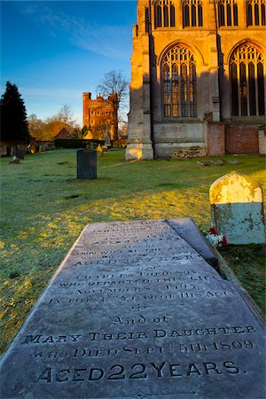 Cemetery, Tattershall, Lincolnshire, England Stock Photo - Rights-Managed, Code: 700-05786117
