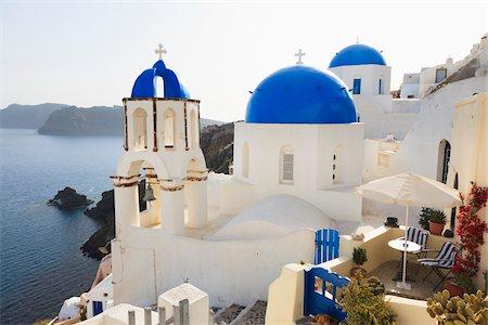 Church, Oia, Santorini Island, Greece Stock Photo - Rights-Managed, Code: 700-05786244