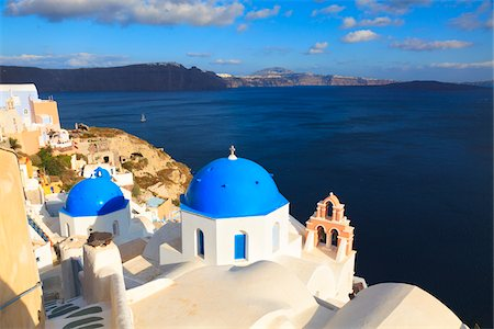Church, Oia, Santorini Island, Greece Stock Photo - Rights-Managed, Code: 700-05786247
