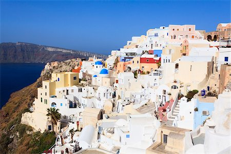 View of Oia, Santorini Island, Greece Stock Photo - Rights-Managed, Code: 700-05786241