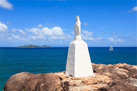 seychelles - Statue at St Mary's Point, Grand Anse, Praslin Island, Seychelles Stock Photo - Rights-Managed, Code: 700-05786258