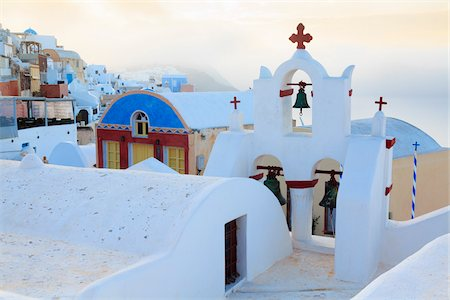 Oia, Santorini Island, Greece Stock Photo - Rights-Managed, Code: 700-05786252