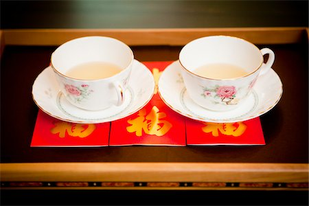pair - Tea Cups for Ceremony Stock Photo - Rights-Managed, Code: 700-05786455