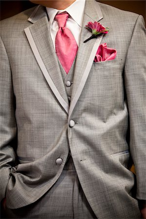Close-Up of Groom's Attire Stock Photo - Rights-Managed, Code: 700-05786451
