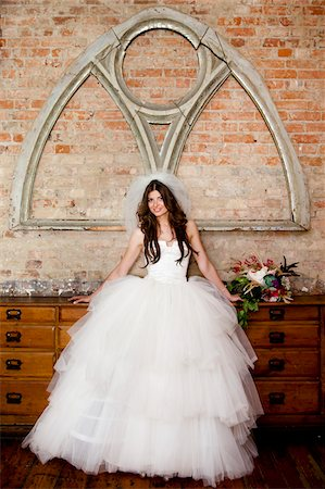 Portrait of Bride Stock Photo - Rights-Managed, Code: 700-05786477