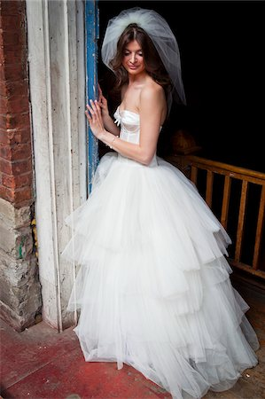 Portrait of Bride Stock Photo - Rights-Managed, Code: 700-05786471