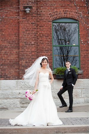 Bride and Groom Stock Photo - Rights-Managed, Code: 700-05786621