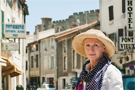 Portrait of Woman in France Stock Photo - Rights-Managed, Code: 700-05780988